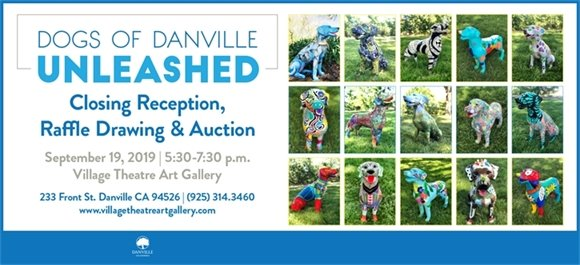 Dogs of Danville Unleashed - Closing Reception September 19,2019