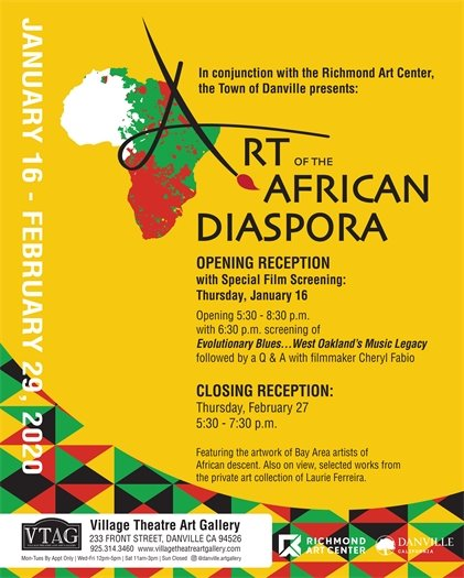 Art of the African Diaspora - Opening Reception January 16, 2020