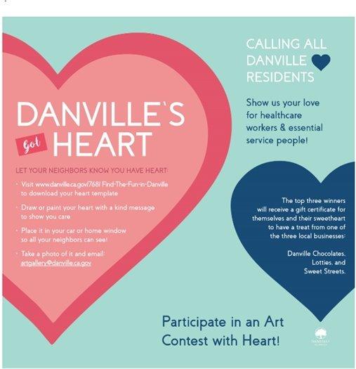 Danville's Got Heart - Art Contest