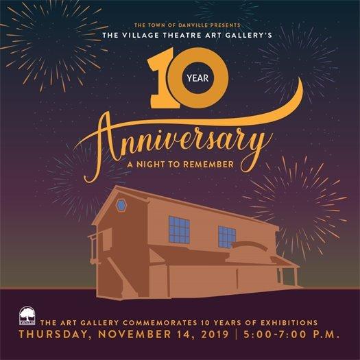 10 Year Anniversary Danvillle Art Gallery