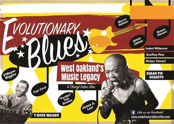Film Screening - January 16, 2020 - Evolutionary Blues...West Oakland's Music Legacy