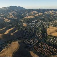 Aerial Image of the San Ramon Valley