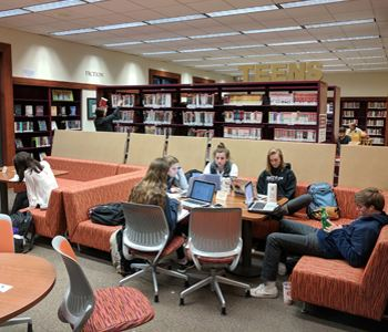 Teen Zone at the Danville Library