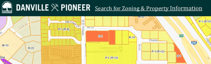 Danville Pioneer Search for Zoning & Property Information
