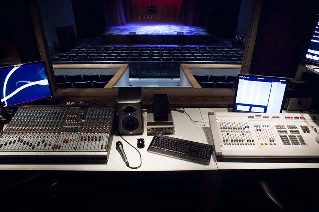 Village Theatre Production Booth