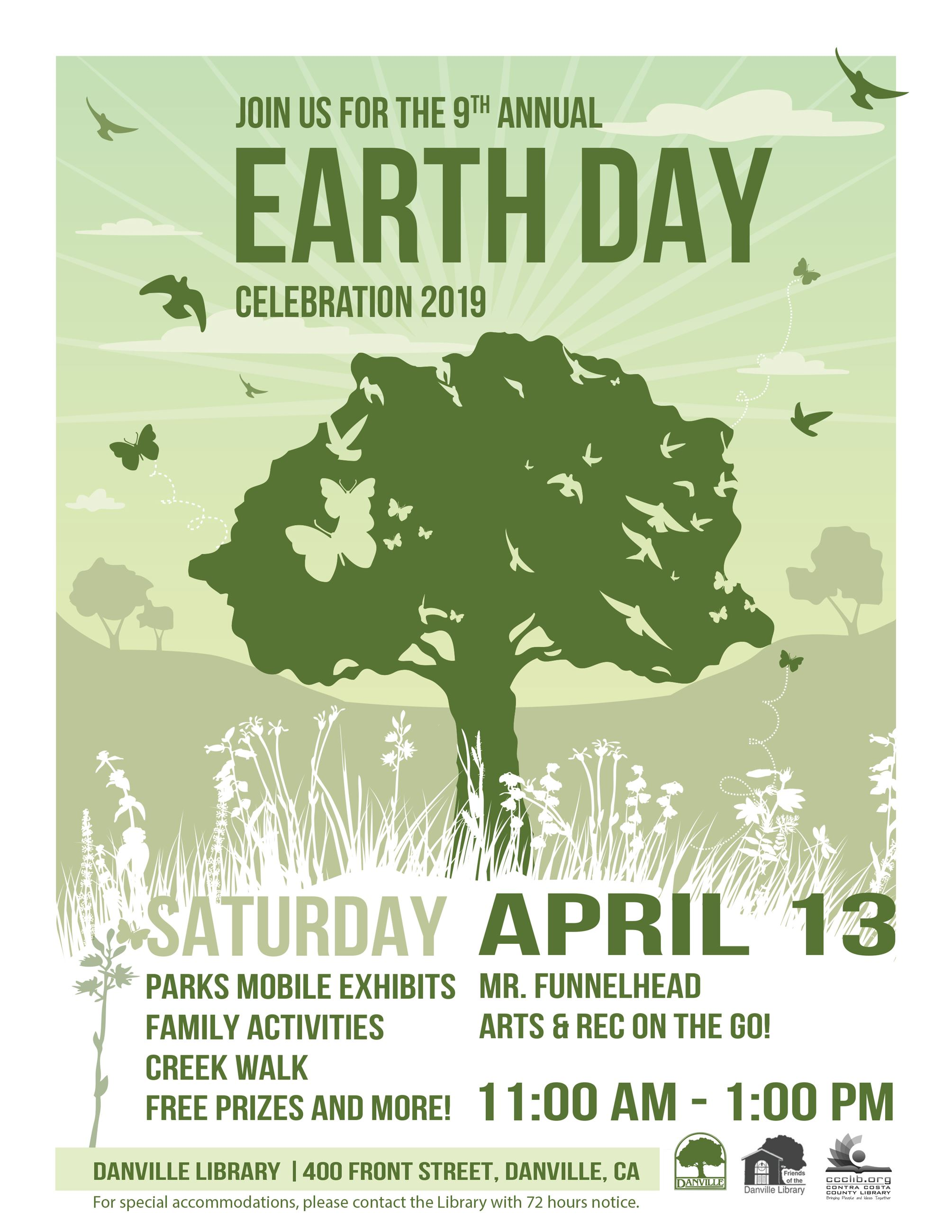 Join us for the 2019 DAN-Earthday