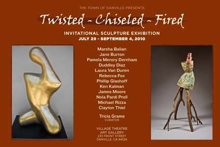 Twisted - Chiseled - Fired - Invitational Sculpture Exhibition
