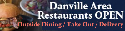 Danville Restaurants Open for Pick Up
