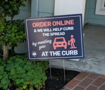 Curbside PickUp Notice