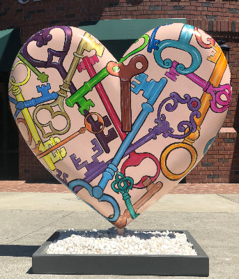Suzanne Gayle's Heart for Hearts around Hartz
