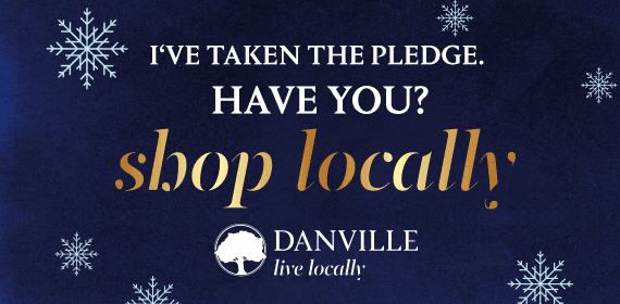 I've taken the pledge have you? Shop Locally