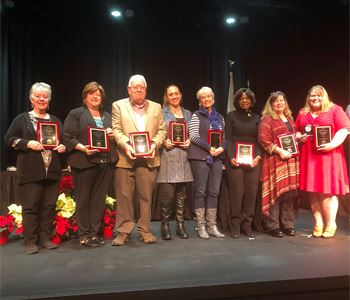 Recipients of Town of Danville Community Awards 2019