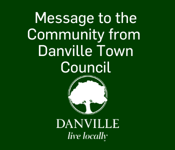 Message to the community from Danville Town Council