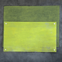 David Pilosof - After Rothko_Chartreuse Over Gray